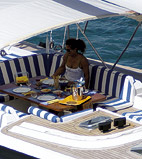 Luxury Yacht Sailing Turkey