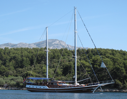 Charter Gulet Cruising Turkey